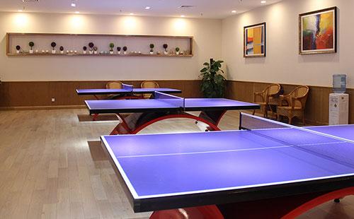 广州乐天堂fun88手机平台环境_乒乓球室