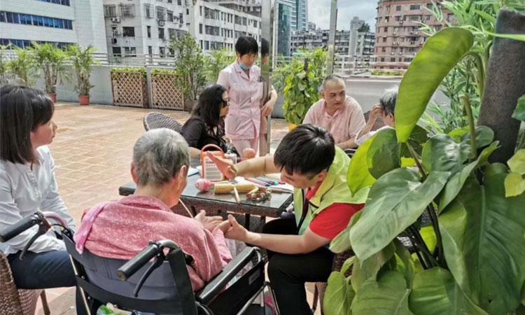 广州养老院_重症照护服务获赞,泰成越秀分院受认